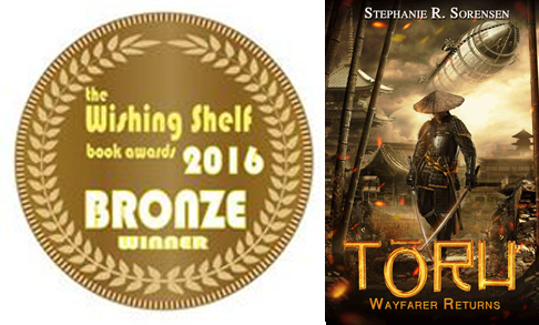 Bronze Medal, Wishing Shelf Independent Book Awards